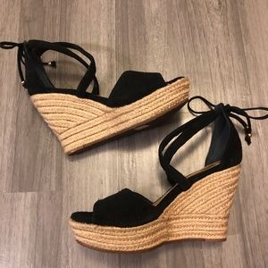 Black Ugg Wedges - Size 8.5